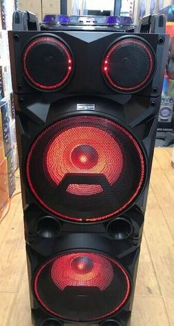 Bluetooth Rechargeable Party DJ Speaker Dual 12 inch with Li