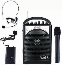 Hisonic HS120BT Portable Speaker System with Wireless Microp