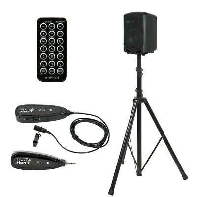 Galaxy Traveler Quest 6 Battery-Powered PA System with Bluet