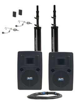LIB-DP2 Liberty Deluxe Package 2, Includes 4 Wireless Microp
