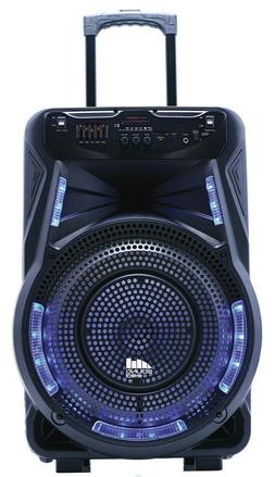 """Naxa NDS-1534 15"""" Rechargeable Party Speaker +TWS-Bluetooth/"""