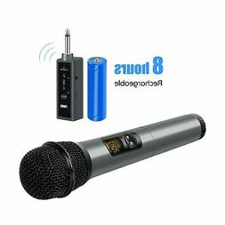 TONOR UHF Wireless Microphone Handheld Mic with Bluetooth Re