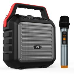 Voice Amplifier Speaker with Handheld Microphone PA System K