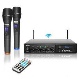 Pyle Wireless Microphone & Bluetooth Receiver System, Audio